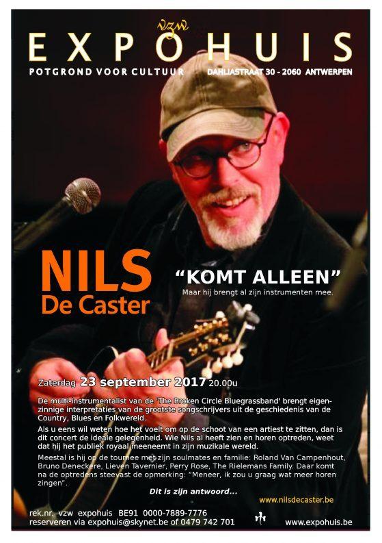 Flyer Nils De Caster.