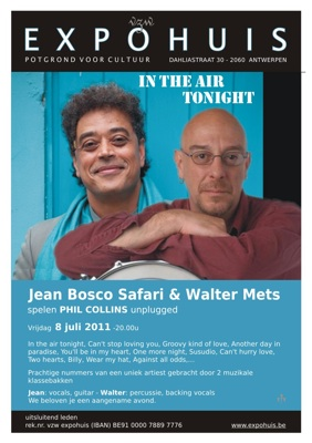 Jean Bosco Safari & Walter Mets - In the air tonight