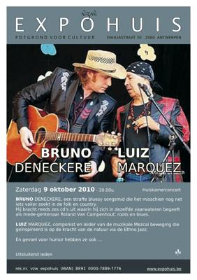 Bruno Deneckere en Luiz Marquez
